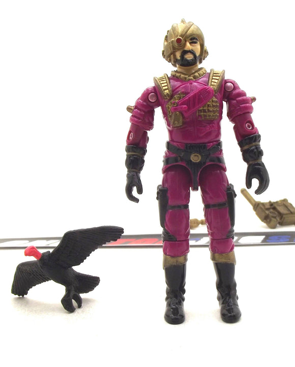1988 ARAH G.I. JOE COBRA VOLTAR V1 DESTRO'S GENERAL LOOSE 100% COMPLETE (a)