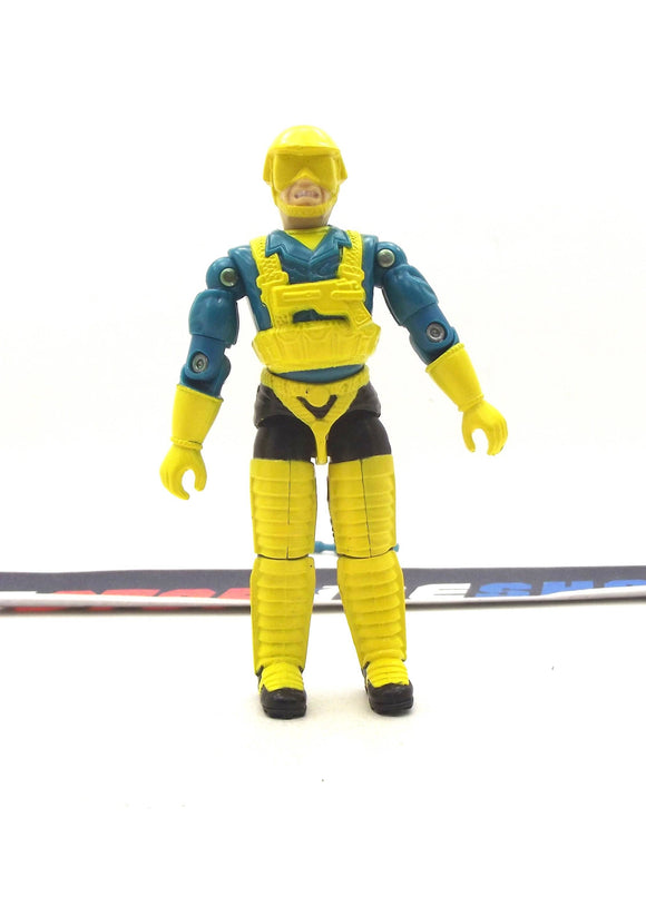 1991 ARAH G.I. JOE COBRA SKY CREEPER V1 AIR COMMANDOS AIR RECON LEADER GLIDER PILOT LOOSE 100% COMPLETE (a)