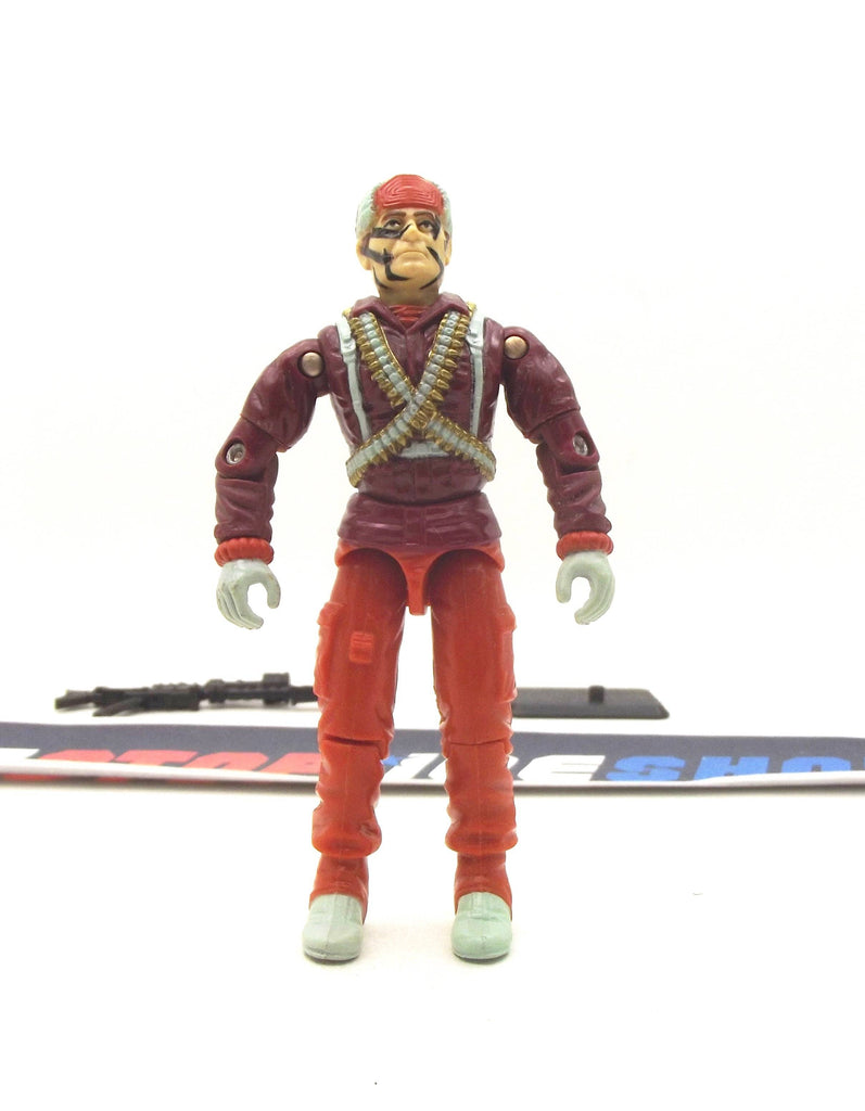1993 ARAH G.I. JOE BIG BEN V2 INTERNATIONAL ACTION FORCE MAIL IN LOOSE 100% COMPLETE
