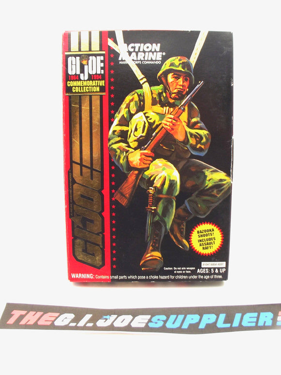 1994 G.I. JOE ACTION MARINE V1 MARINE CORPS COMMANDO 1964-1994 30TH ANNIVERSARY COMMEMORATIVE 3 3/4