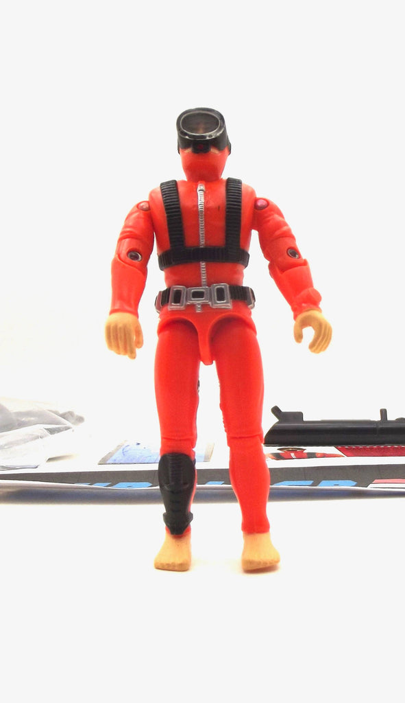 "1994 G.I. JOE ACTION SAILOR V2 ORIGINAL ACTION TEAM NAVY FROGMAN 1964-1994 30TH ANNIVERSARY COMMEMORATIVE 3 3/4"" LOOSE 100% COMPLETE + F/C"