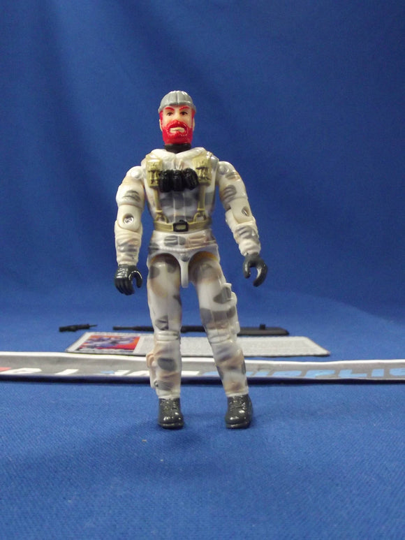 1997 ARAH G.I. JOE BLIZZARD V2 ARCTIC MISSION TEAM TRU EXCLUSIVE LOOSE 100% COMPLETE + F/C