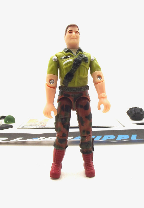 1997 ARAH G.I. JOE DUKE V7 ARMY RECON MISSION TRU EXCLUSIVE LOOSE 100% COMPLETE + F/C