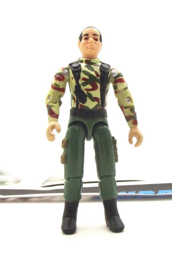 1997 ARAH G.I. JOE GRUNT V4 15TH ANNIVERSARY STARS AND STRIPES FOREVER LOOSE 100% COMPLETE + F/C