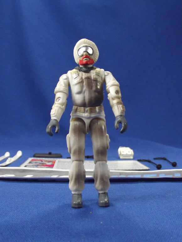 1997 ARAH G.I. JOE SNOW JOB V2 ARCTIC MISSION TEAM TRU EXCLUSIVE LOOSE 100% COMPLETE + F/C