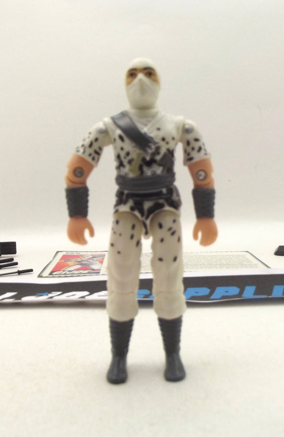 1997 ARAH G.I. JOE STORM SHADOW V5 COMMANDO TEAM TRU EXCLUSIVE LOOSE 100% COMPLETE + F/C