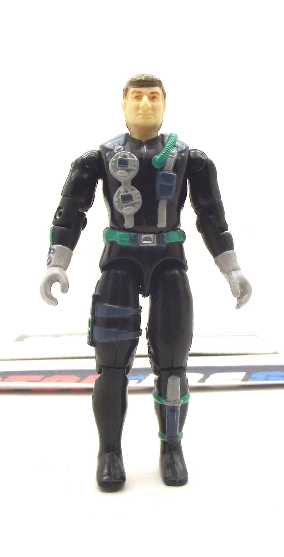 1998 ARAH G.I. JOE TORPEDO V3 NAVY ASSAULT UNIT TRU EXCLUSIVE LOOSE 100% COMPLETE + F/C