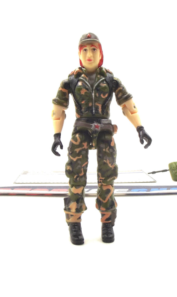 1998 ARAH GI JOE VOLGA V1 OKTOBER GUARD TRU EXCLUSIVE LOOSE 100% COMPLETE + F/C
