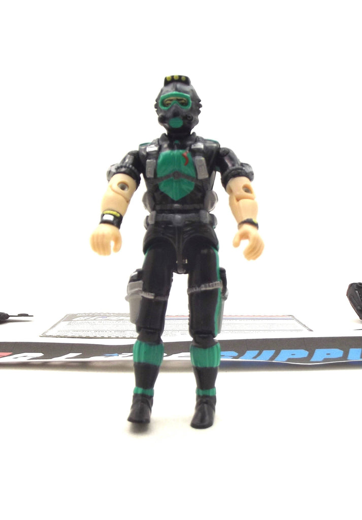 1998 ARAH G.I. JOE WET SUIT V5 NAVY ASSAULT UNIT TRU EXCLUSIVE LOOSE 100% COMPLETE + F/C