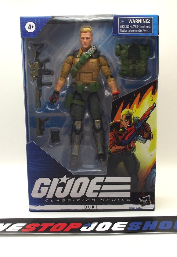 2020 CLASSIFIED G.I. JOE DUKE 6