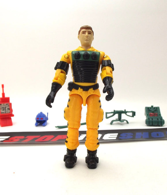1988 ARAH G.I. JOE LIGHTFOOT V1 EXPLOSIVES EXPERT LOOSE 100% COMPLETE