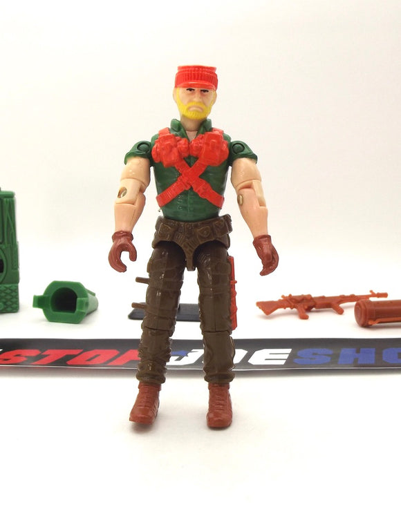 1991 ARAH G.I. JOE ROCK N ROLL V3 SUPER SONIC FIGHTERS LOOSE 100% COMPLETE