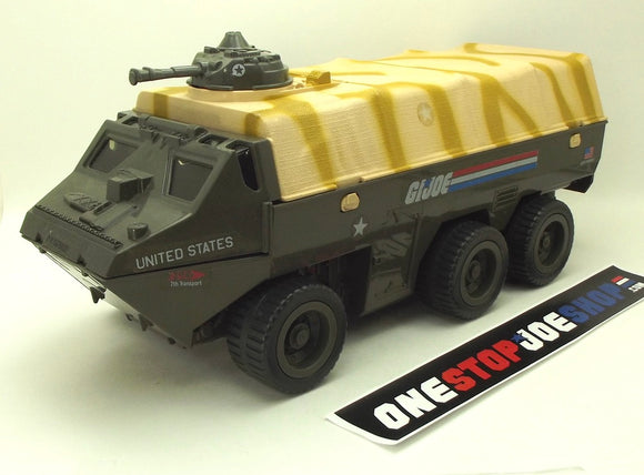 1983 VINTAGE ARAH G.I. JOE APC AMPHIBIOUS PERSONNEL CARRIER VEHICLE LOOSE 100% COMPLETE (d)