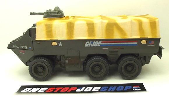 1983 VINTAGE ARAH G.I. JOE APC AMPHIBIOUS PERSONNEL CARRIER VEHICLE LOOSE 100% COMPLETE (b)