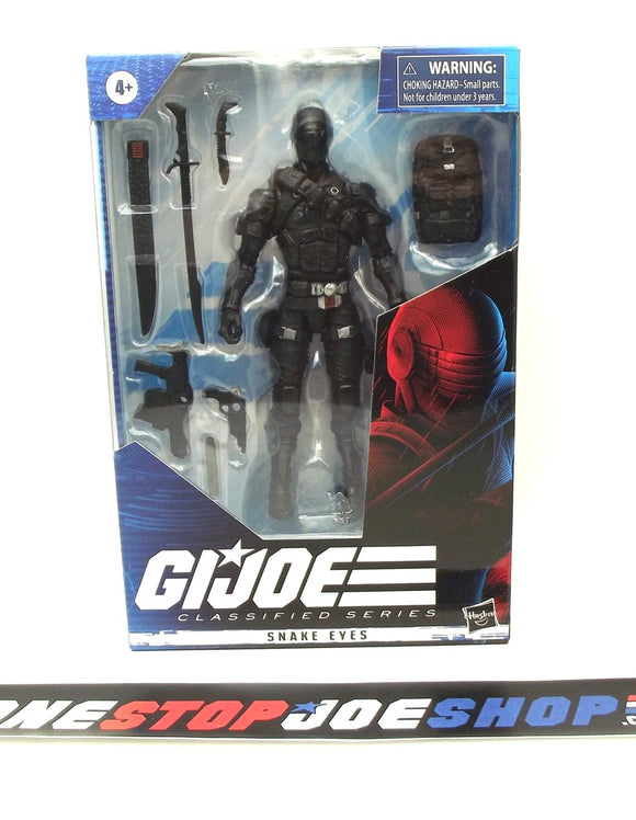 2020 CLASSIFIED G.I. JOE SNAKE EYES 6