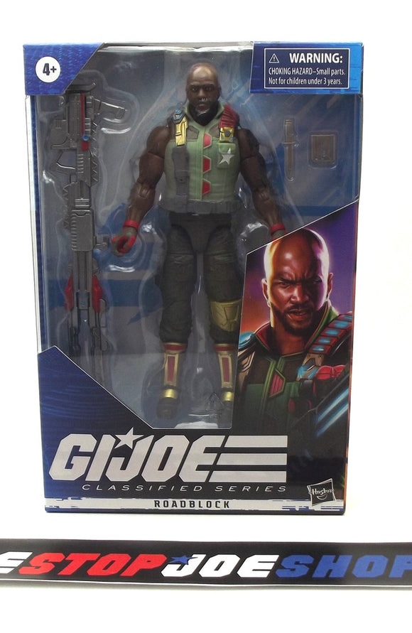 2020 CLASSIFIED G.I. JOE ROADBLOCK 6