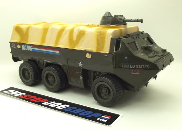 1983 VINTAGE ARAH G.I. JOE APC AMPHIBIOUS PERSONNEL CARRIER VEHICLE LOOSE 100% COMPLETE (a)