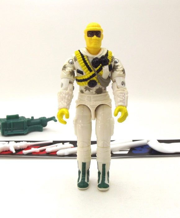 1993 VINTAGE ARAH G.I. JOE ICEBERG V2 ARCTIC ASSAULT TROOPER LOOSE 100% COMPLETE