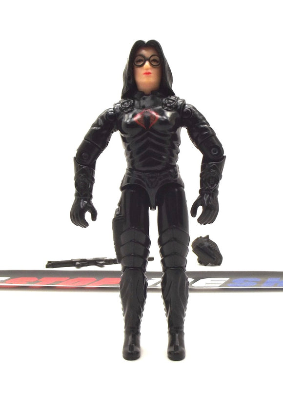 1984 ARAH G.I. JOE COBRA BARONESS V1 INTELLIGENCE OFFICER LOOSE 100% COMPLETE (e)