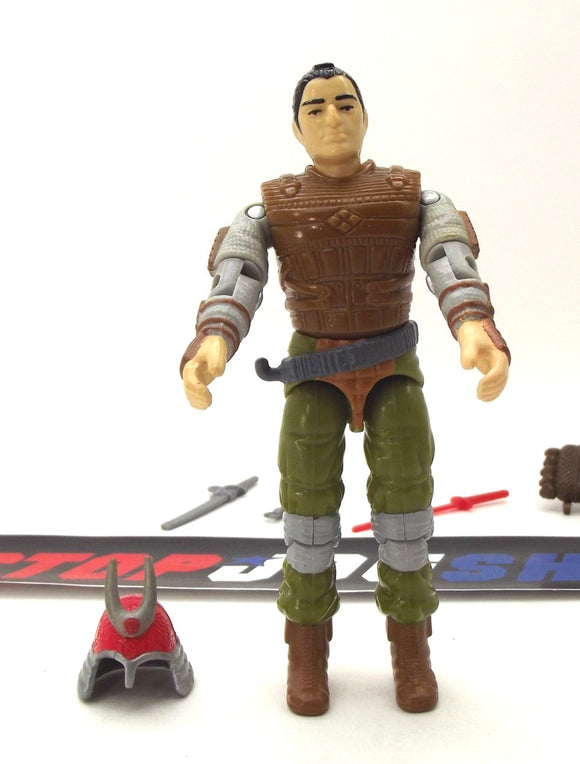 1988 ARAH G.I. JOE BUDO V1 SAMURAI WARRIOR LOOSE 100% COMPLETE