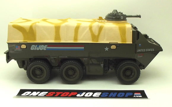 1983 VINTAGE ARAH G.I. JOE APC AMPHIBIOUS PERSONNEL CARRIER VEHICLE LOOSE 100% COMPLETE (c)
