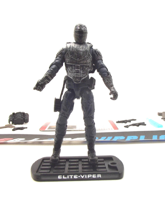 2009 ROC G.I. JOE COBRA ELITE VIPER V1 LOOSE 100% COMPLETE + F/C