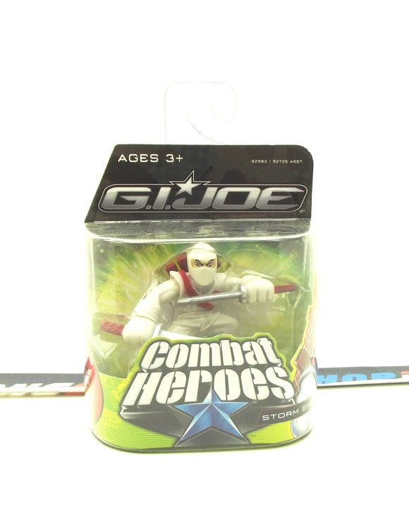 2009 COMBAT HEROES G.I. JOE COBRA STORM SHADOW V3 ROC RISE OF COBRA NEW SEALED
