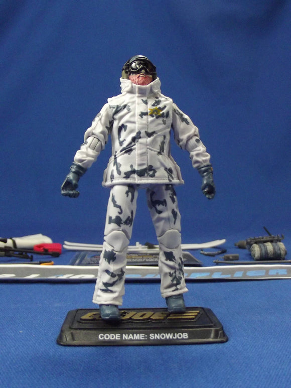 2014 50TH ANNIVERSARY G.I. JOE SNOW JOB V8 ARCTIC AMBUSH PACK LOOSE 100% COMPLETE + F/C