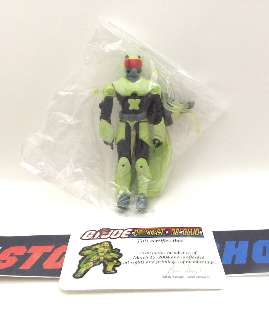 2004 VVV G.I. JOE COBRA HEAVY WATER V2 GLOW IN THE DARK CLUB EXCLUSIVE COMPLETE + F/C NEW SEALED