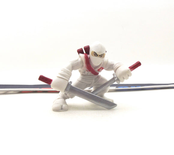 2009 COMBAT HEROES G.I. JOE COBRA STORM SHADOW V3 ROC RISE OF COBRA LOOSE
