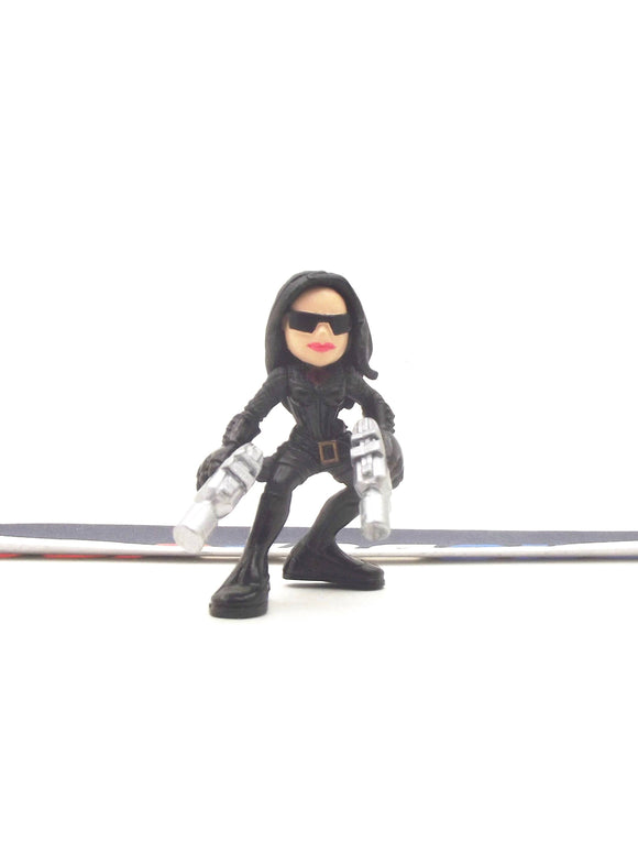 2009 COMBAT HEROES G.I. JOE COBRA BARONESS V2 ROC RISE OF COBRA LOOSE