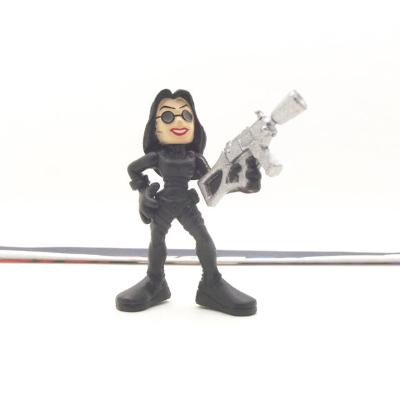 2009 COMBAT HEROES G.I. JOE COBRA BARONESS V3 ROC RISE OF COBRA LOOSE