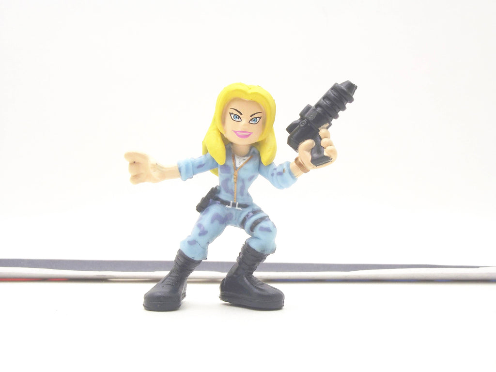 2009 COMBAT HEROES G.I. JOE COVER GIRL V1 ROC RISE OF COBRA LOOSE