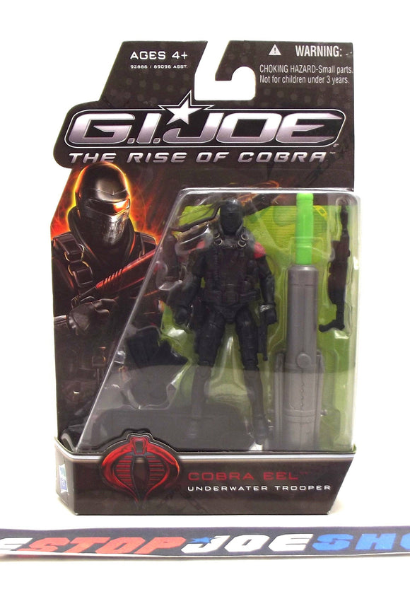 2009 ROC G.I. JOE COBRA EEL V5 NEW SEALED