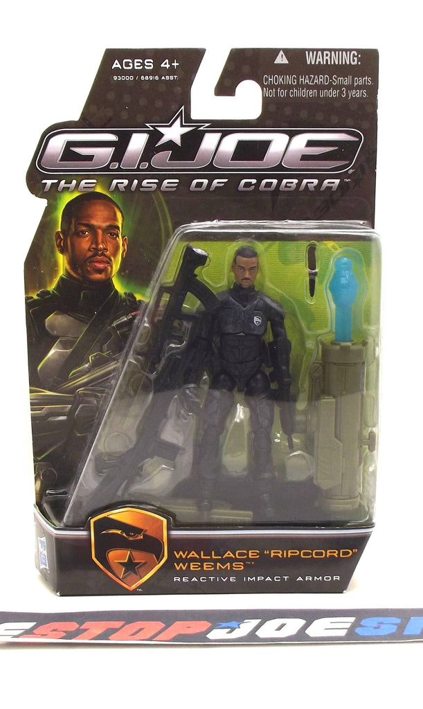2009 ROC G.I. JOE RIPCORD V3 REACTIVE IMPACT ARMOR NEW SEALED