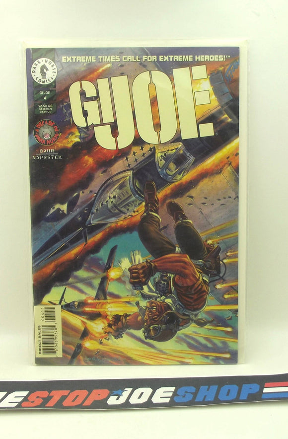 DARK HORSE COMICS G.I. JOE VOL. 2 ISSUE #4 COMIC BOOK VF+ / NM