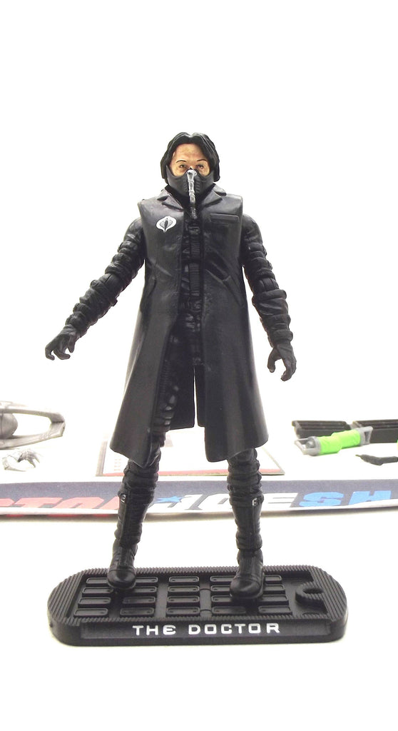 2009 ROC G.I. JOE COBRA COBRA COMMANDER THE DOCTOR V1A LOOSE 100% COMPLETE + F/C