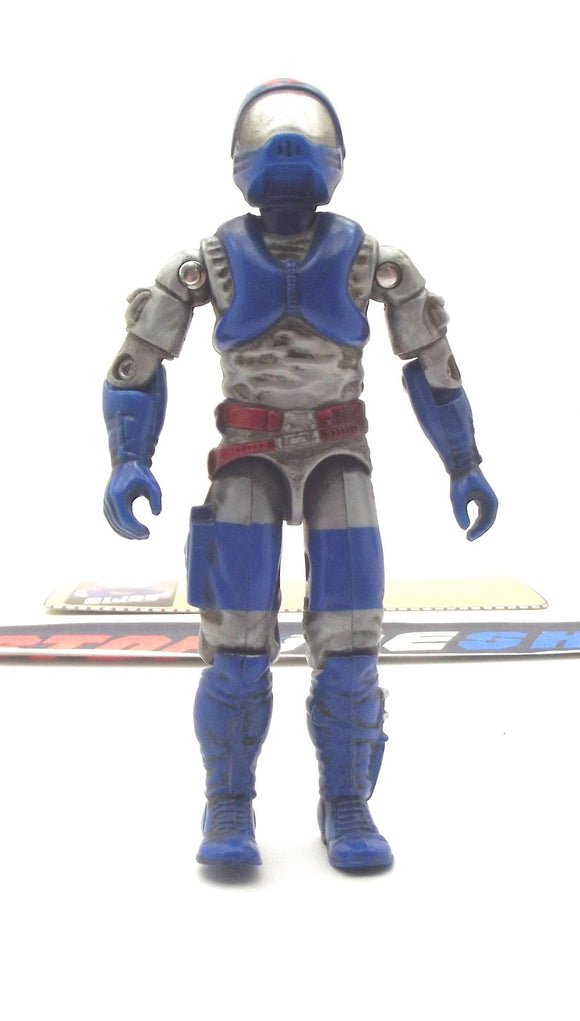 2000 ARAH G.I. JOE COBRA LAMPREYS V3 AMPHIBIOUS ASSAULT TROOPER MAN-O-WAR DRIVER LOOSE 100% COMPLETE + F/C