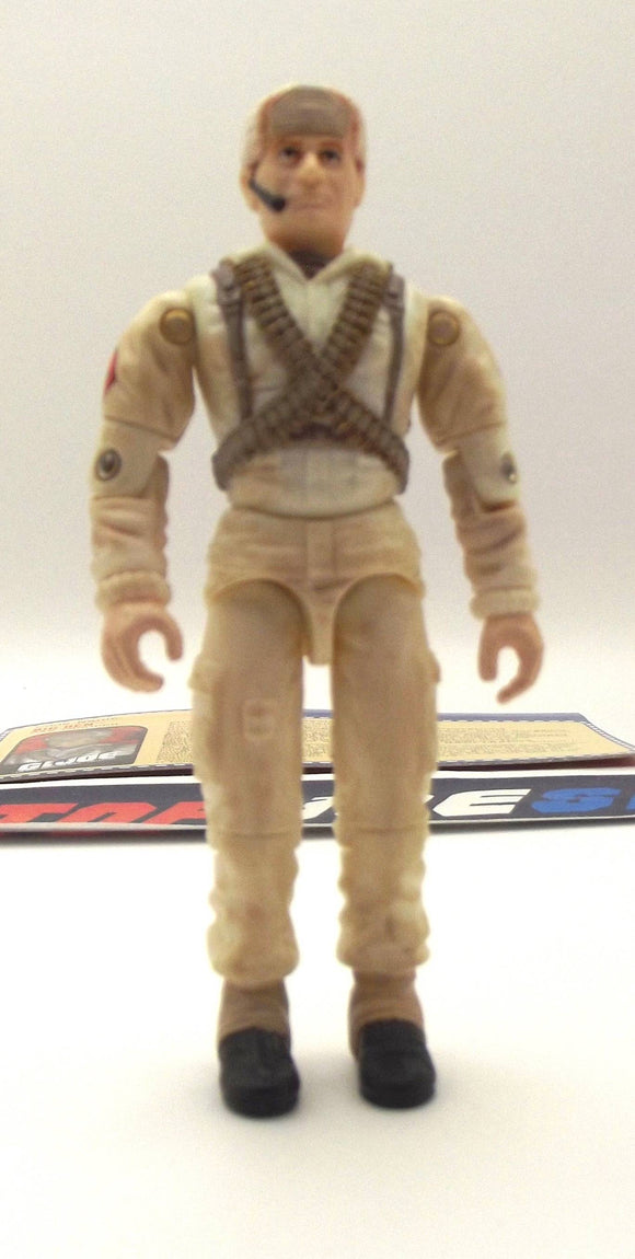 2000 ARAH G.I. JOE BIG BEN V3 SAS TROOPER LOOSE 100% COMPLETE + F/C