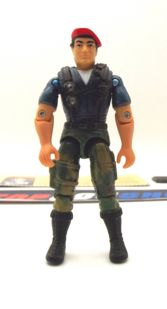 2000 ARAH G.I. JOE DUSTY V4 DESERT TROOPER LOOSE 100% COMPLETE + F/C
