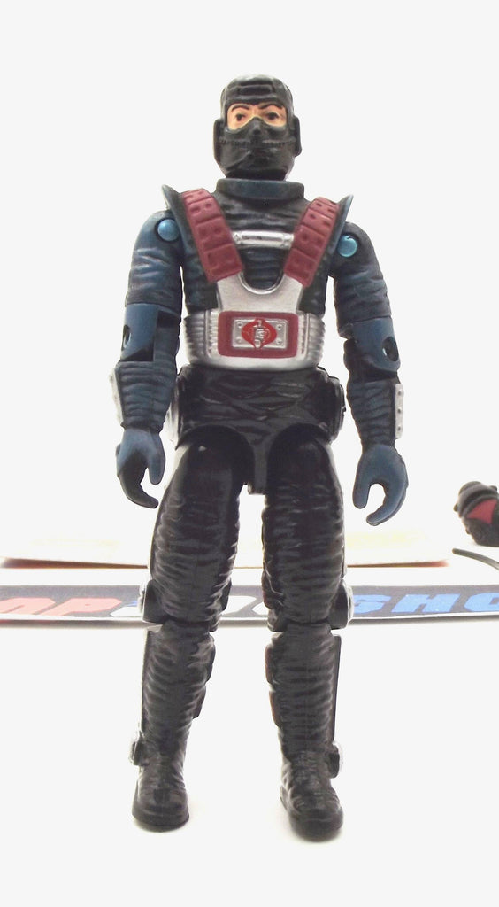 2001 ARAH G.I. JOE COBRA SHADOW VIPER V1 COUNTER INTELLIGENCE LOOSE 100% COMPLETE + F/C