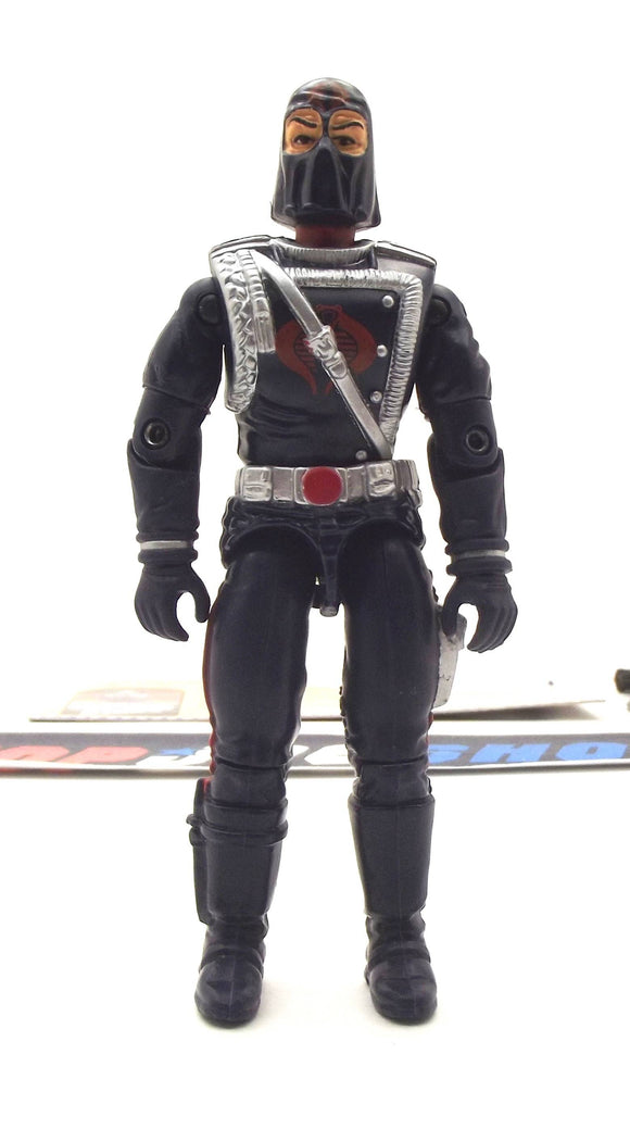 2000 ARAH G.I. JOE COBRA COMMANDER V9 ENEMY LEADER LOOSE 100% COMPLETE + F/C
