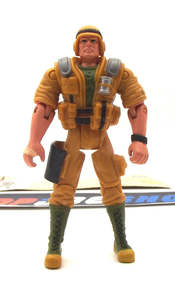 2002 GVC G.I. JOE DUKE V10 FIRST SERGEANT LOOSE 100% COMPLETE + F/C EARLY LIGHT TAN VARIANT