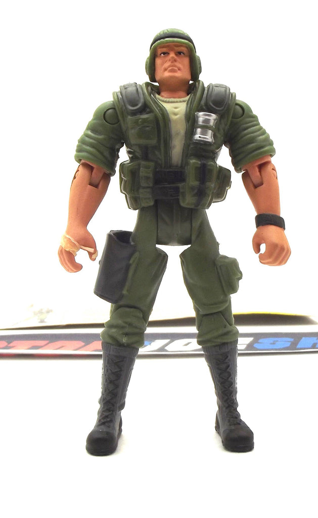 2002 GVC G.I. JOE DUKE V9 FIRST SERGEANT LOOSE 100% COMPLETE + F/C