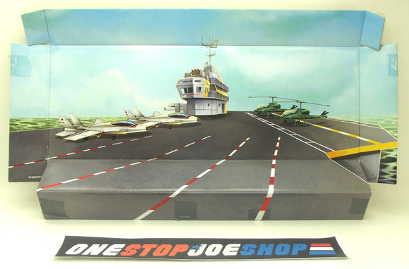 2009 G.I. JOE COBRA 25TH ANNIV JOE 5-PACK U.S.S. FLAGG BACKGROUND DISPLAY DIORAMA