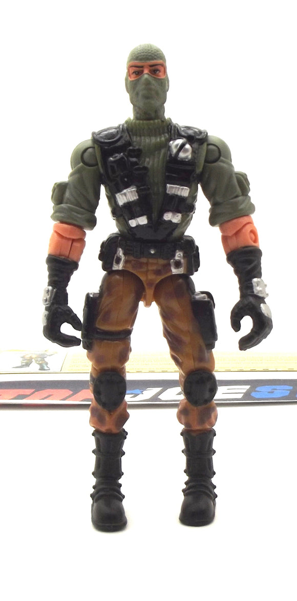 2002 GVC G.I. JOE BEACHHEAD V4 AMPHIBIOUS AND AIRBORNE ASSAULT TROOPER LOOSE 100% COMPLETE + F/C