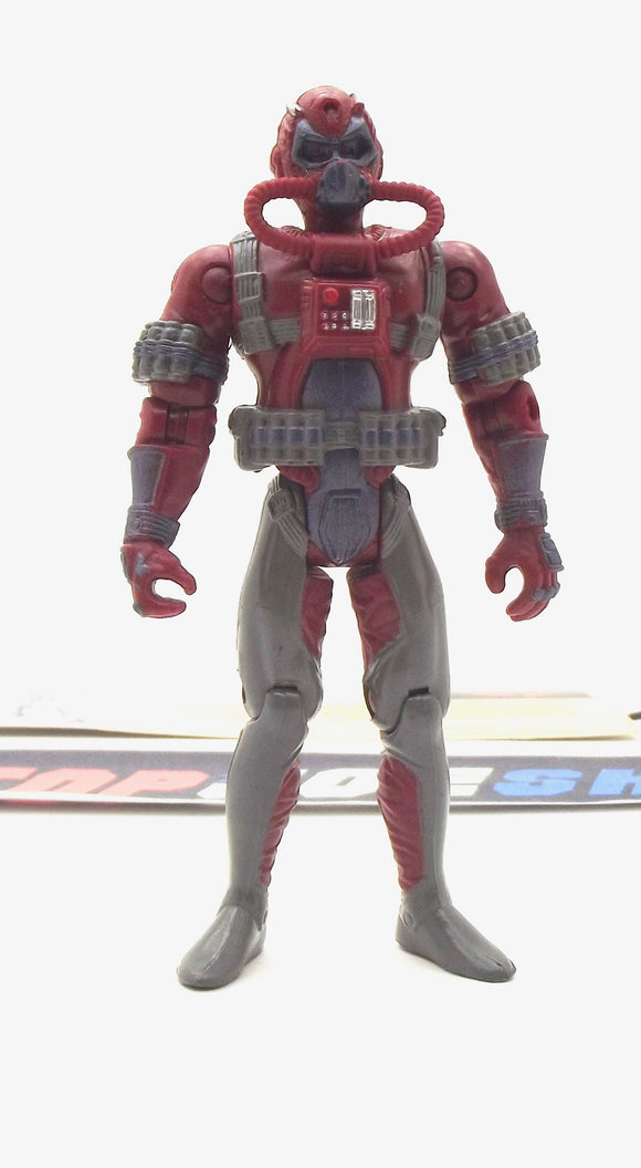 2002 GVC G.I. JOE COBRA MORAY V3 UNDERWATER ELITE OPERATIONS LOOSE 100% COMPLETE + F/C