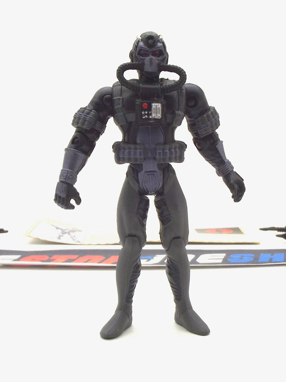 2002 GVC G.I. JOE COBRA MORAY V1 UNDERWATER ELITE OPERATIONS LOOSE 100% COMPLETE + F/C