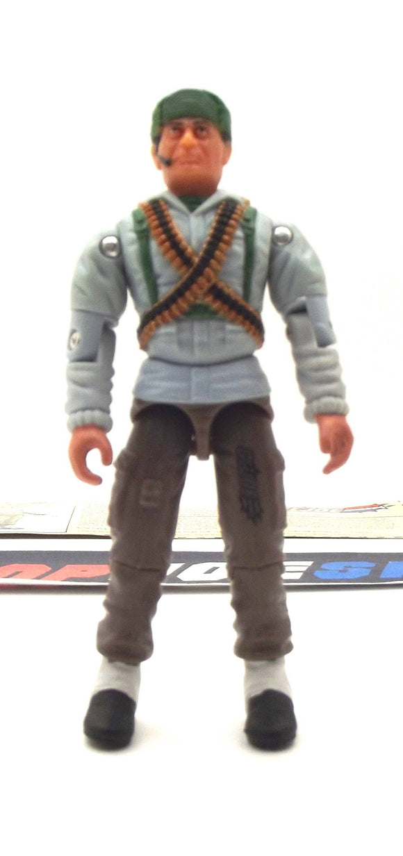 2002 GVC G.I. JOE BIG BEN V5 SAS TROOPER LOOSE 100% COMPLETE + F/C