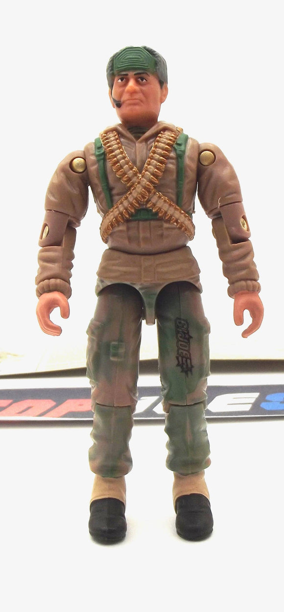 2002 GVC G.I. JOE BIG BEN V4 SAS TROOPER LOOSE 100% COMPLETE + F/C
